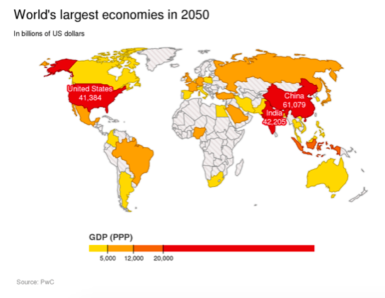 Worlds Largest Economies 2050